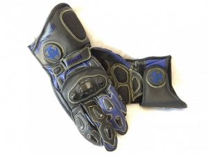 Alpha Cowhide Black & Blue